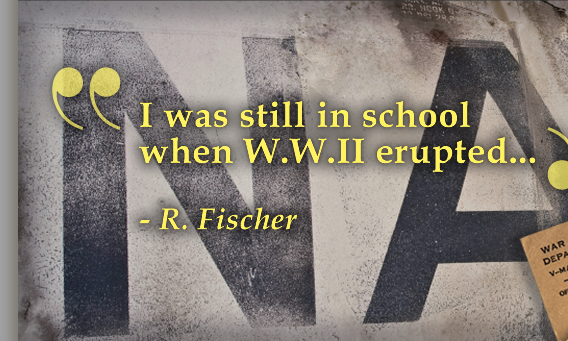 A Personal Account of WWII